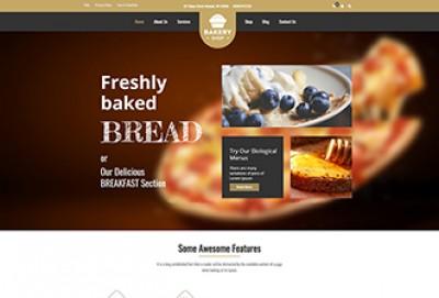 Bread And Breakfast WordPress Theme