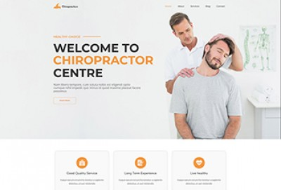 Best Chiropractors WordPress Theme