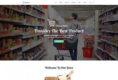 Food & Grocery Store WordPress Theme