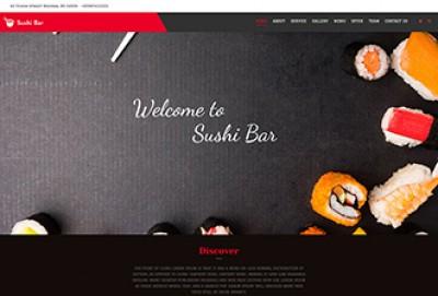 Sushi Bar WordPress Theme