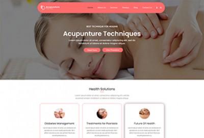 Acupuncture WordPress Theme
