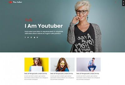 Youtube Personality WordPress Theme