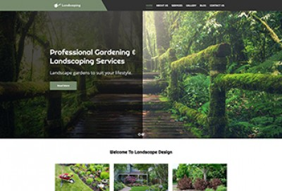 Landscaping And Gardening WordPress Theme