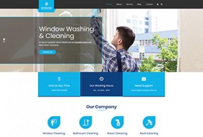 Window Washing WordPress Theme | Window Cleaning WP Themes