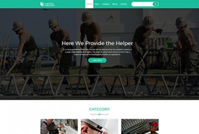 Labour Directory HTML Website Template