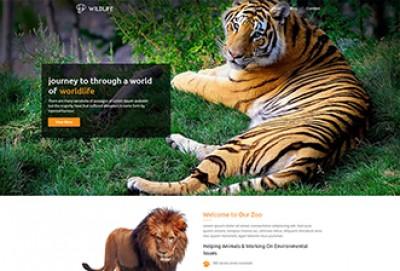 Wild Zoo WordPress Theme