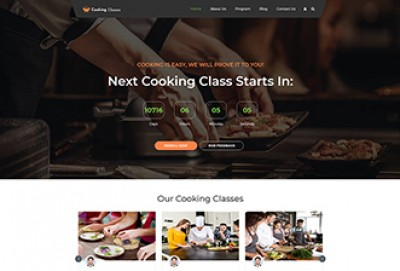 Cooking Classes WordPress Theme