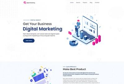 Digital Web Agency WordPress Theme