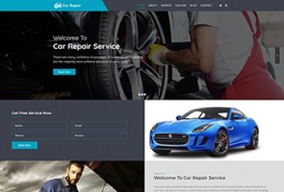 Car Repair Services WordPress Theme