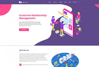 CRM Software WordPress Theme