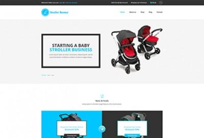 Stroller HTML Website Template