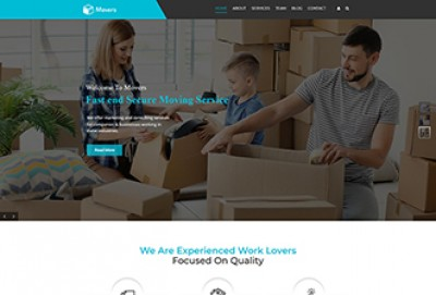 Movers And Packers WordPress Theme