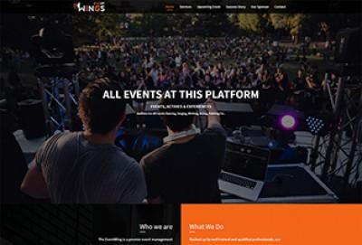 Event Management HTML Website Template