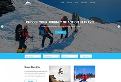 Travel Agency HTML Website Template