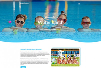 Water Park HTML Website Template