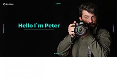 PicClick HTML Website Template