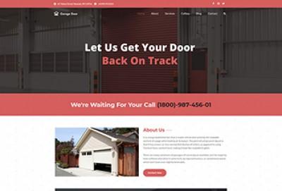 Garage Door WordPress Theme