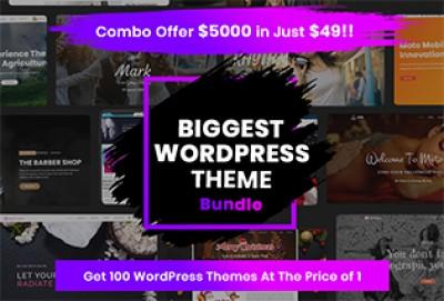 Top 100 Multipurpose Responsive WordPress Themes