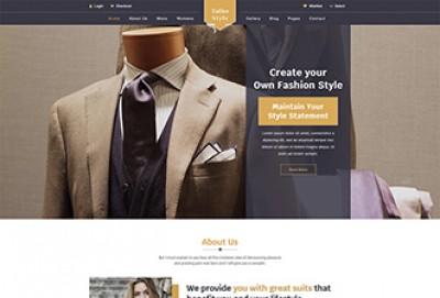 Tailor Shop HTML Website Template