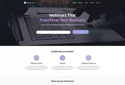 Webinar Services WordPress Theme