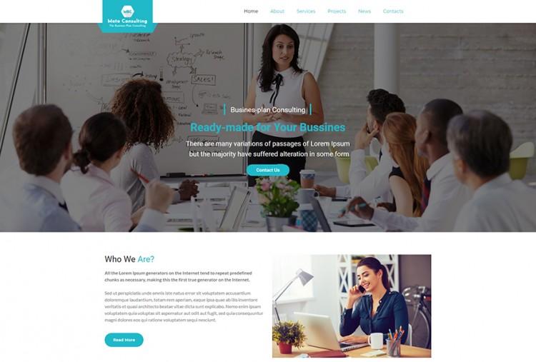 Business Plan WordPress Theme