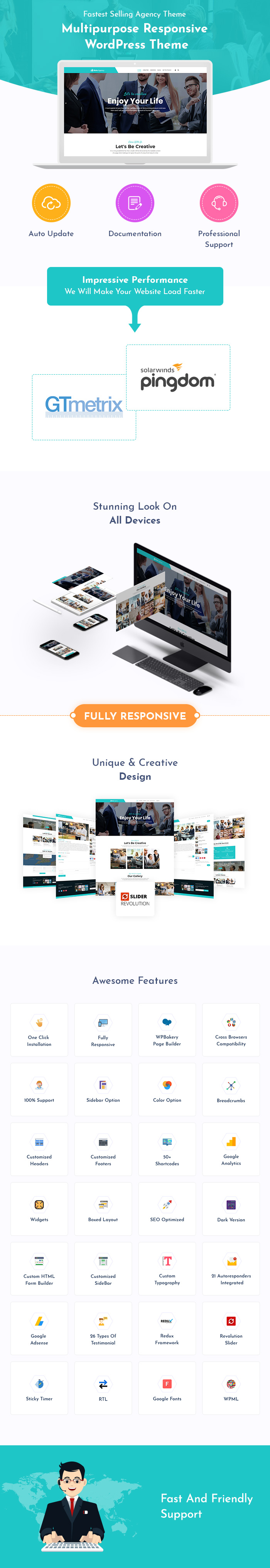 Multi-concept Agency WordPress Themes