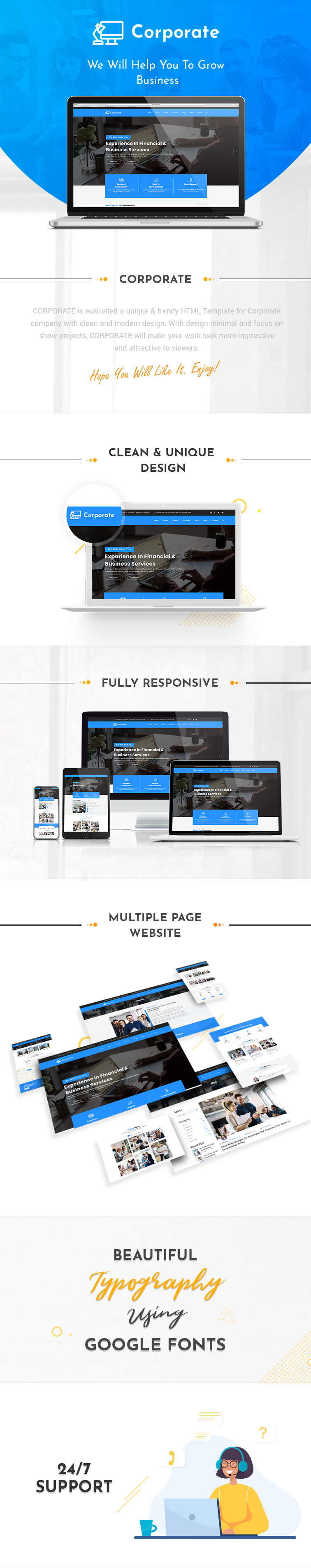 Corporate HTML Templates