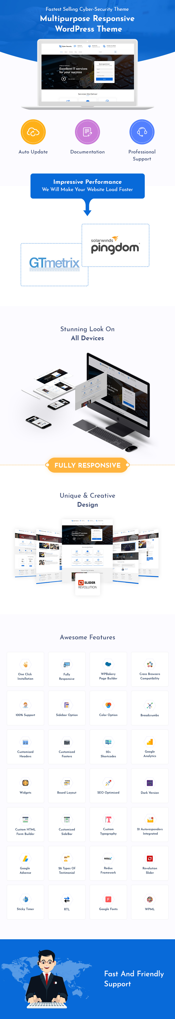 Cyber Security WordPress Themes
