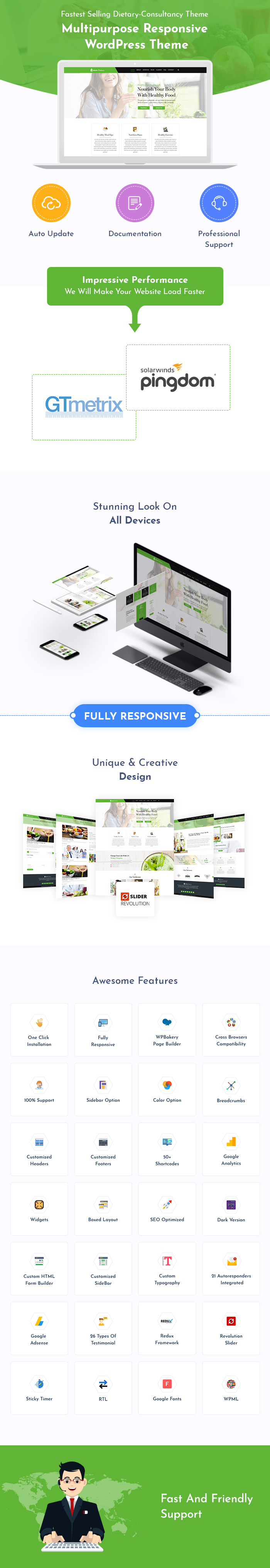 Dietary Consultancy WordPress Themes