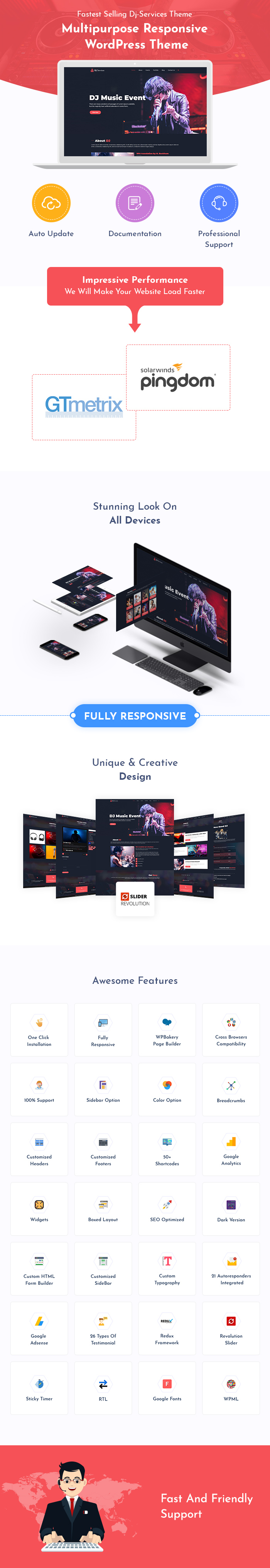 DJ Services WordPress Themes