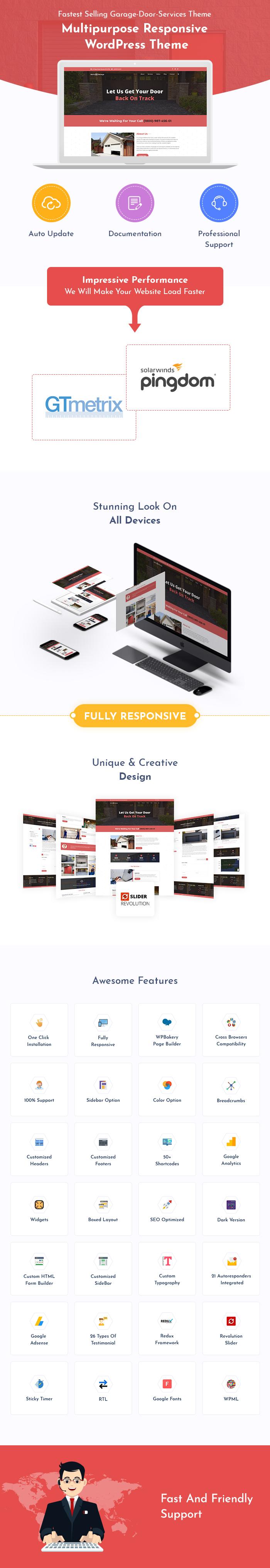 Garage Door WordPress Themes