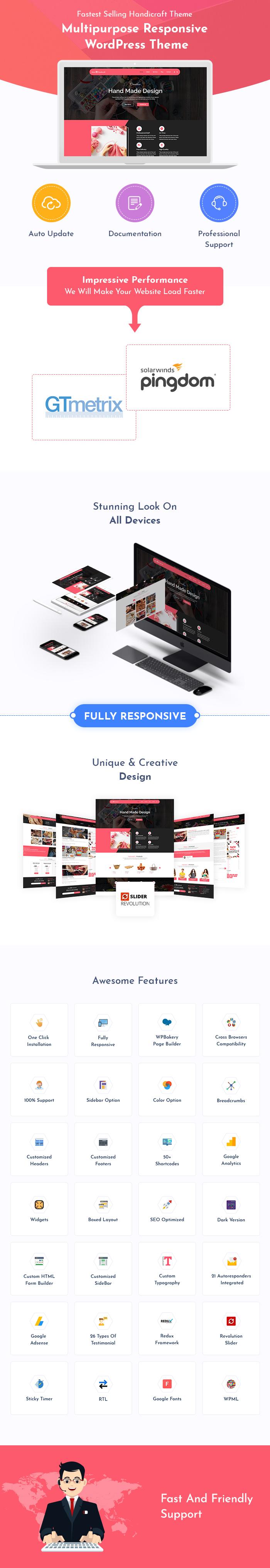 Handicraft WordPress Themes