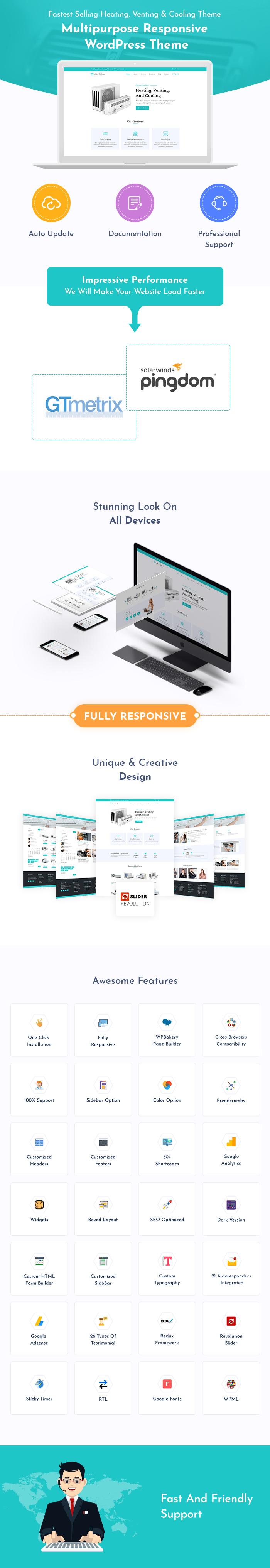 HVAC WordPress Themes