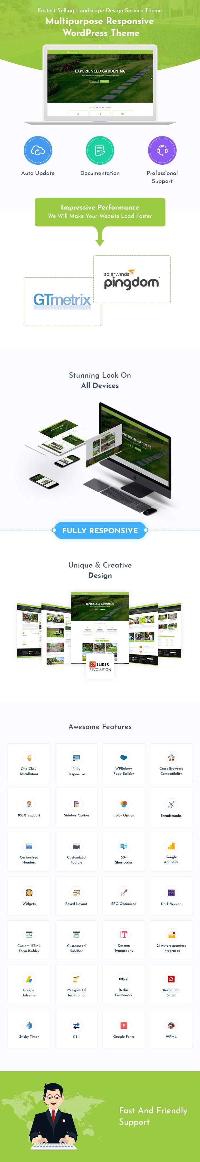 Landscape Design WordPress Themes