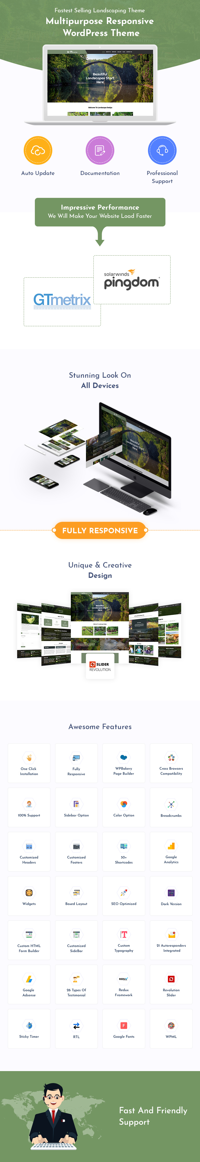 Landscaping & Gardening WordPress Themes