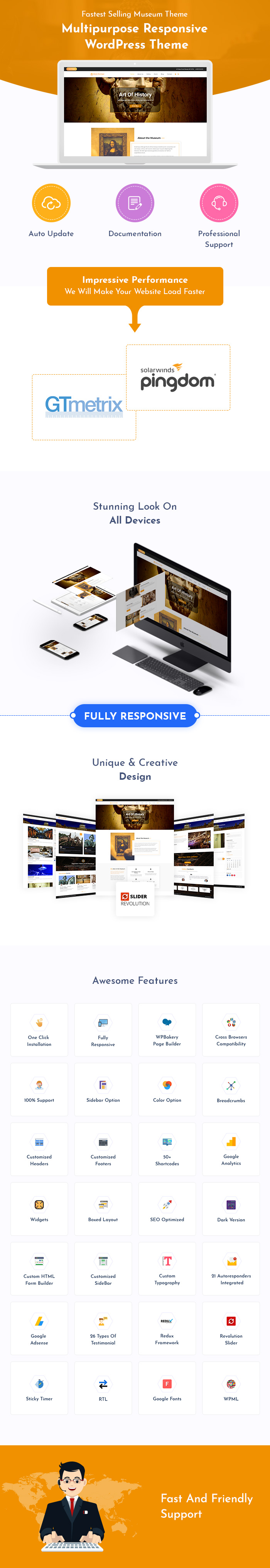 Museum, Art Gallery & Exhibition WordPress Themes