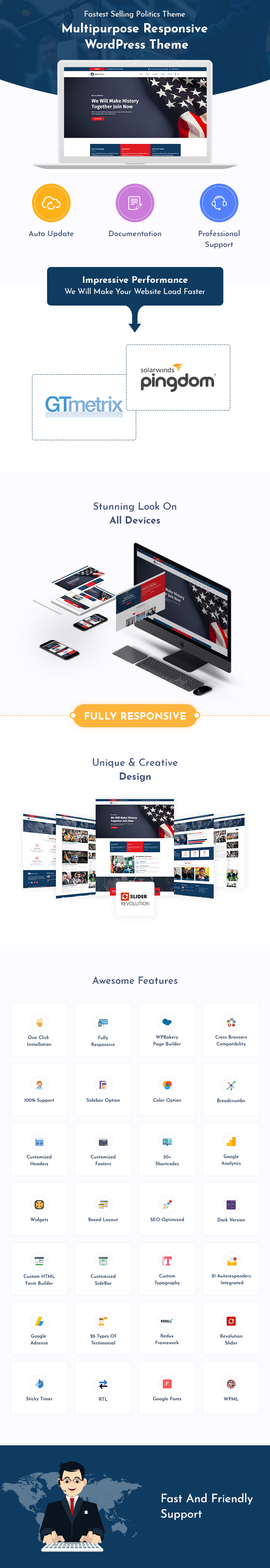 Political Campaign WordPress Themes