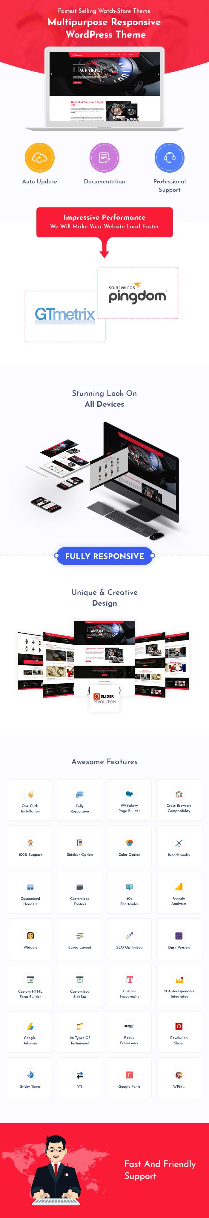 Watch Store WordPress Themes