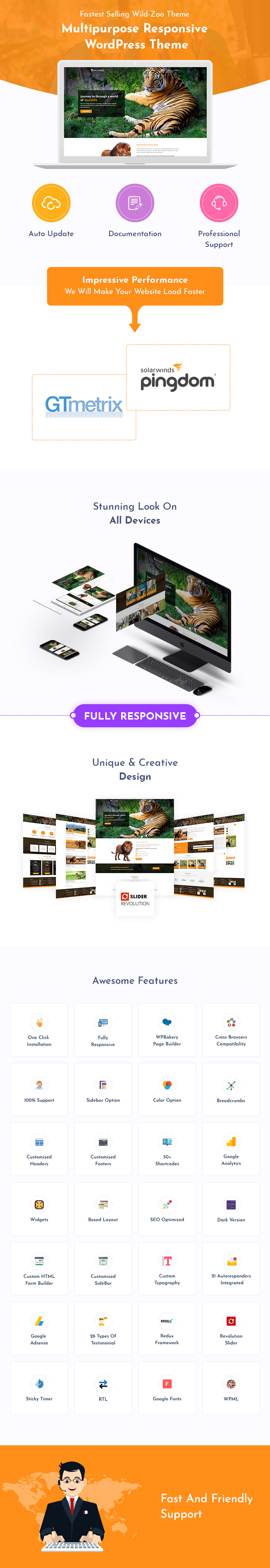 Wild Zoo WordPress Themes