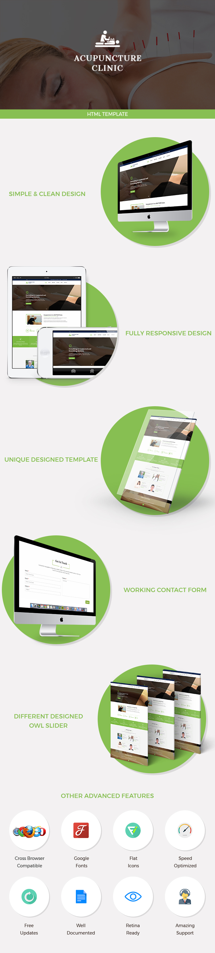 Acupuncture HTML Website Templates
