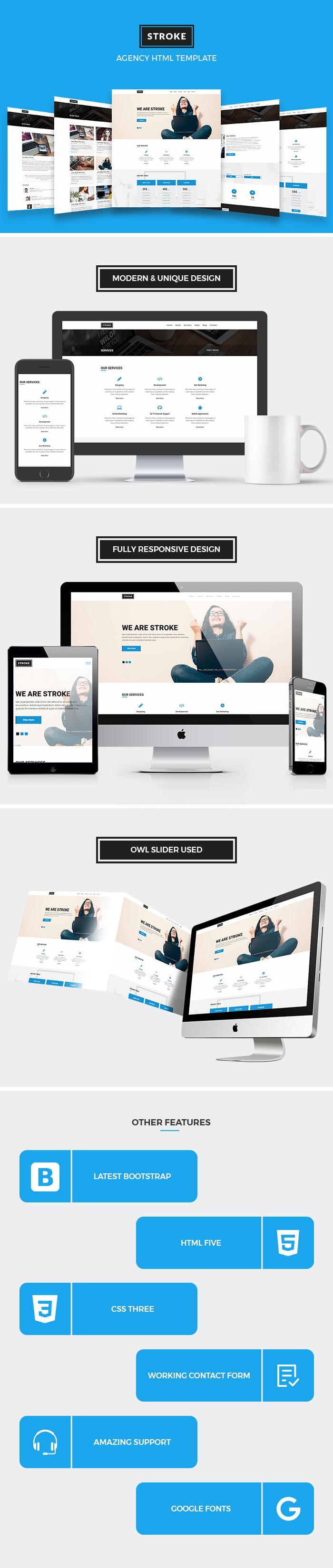 Agency HTML Website Templates