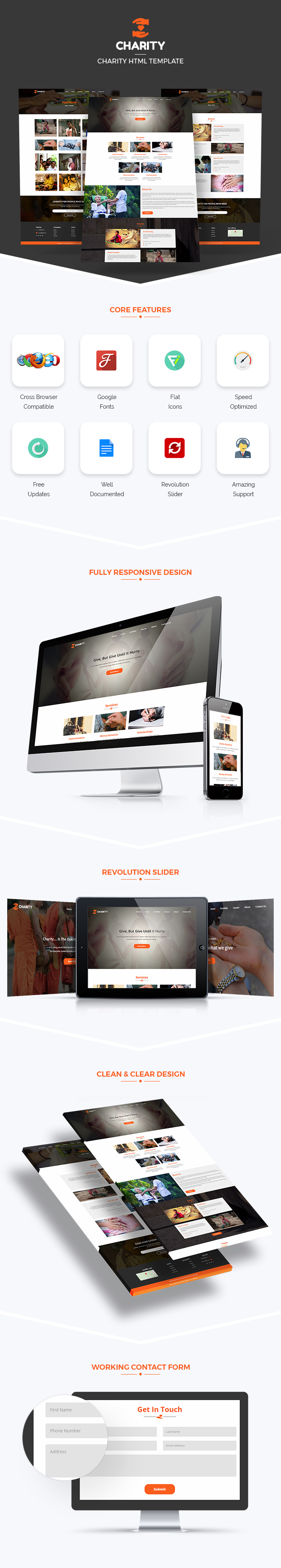 Charitable Trust HTML Website Templates