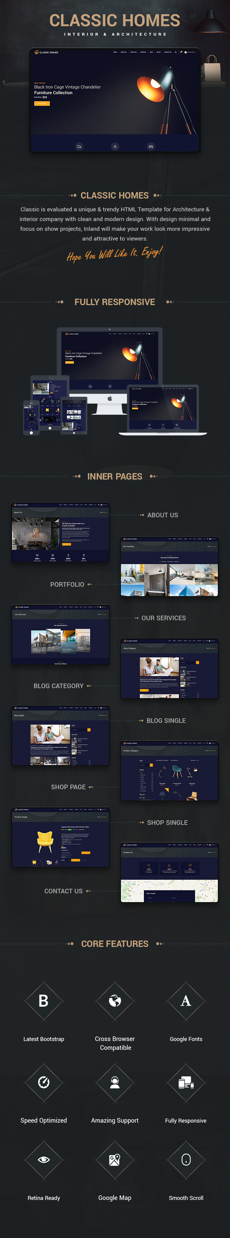 Classic Homes HTML Templates