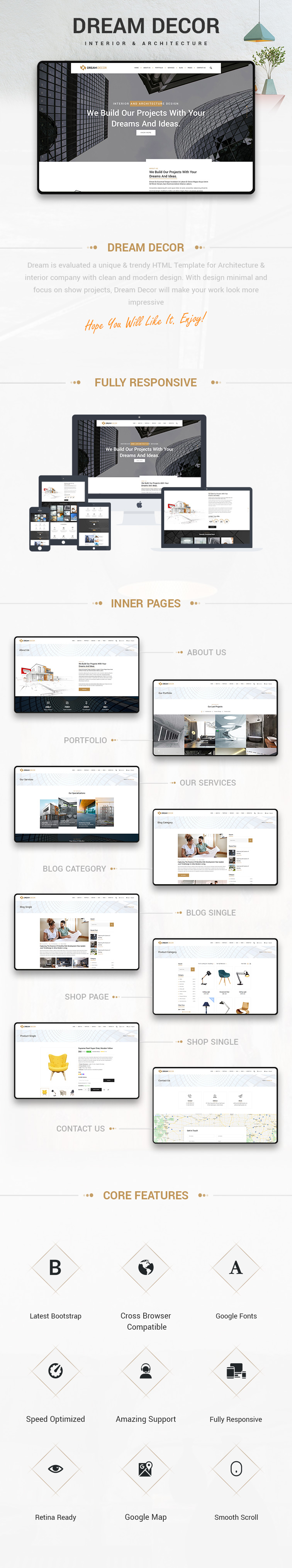 Home Decor HTML Template