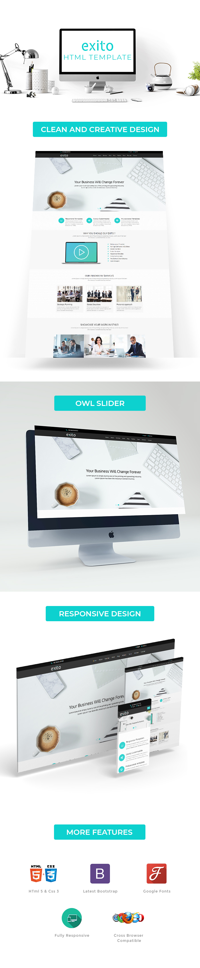 Exito HTML Website Templates
