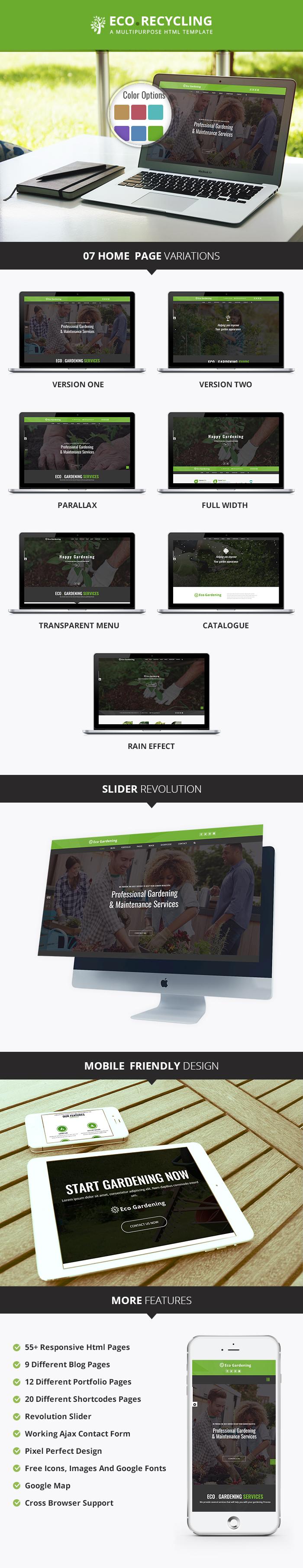 Garden Care HTML Templates