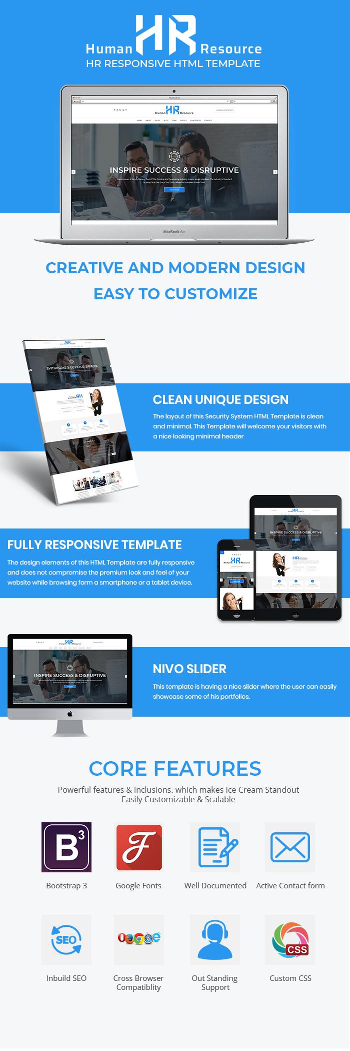 Human Resource HTML Website Templates