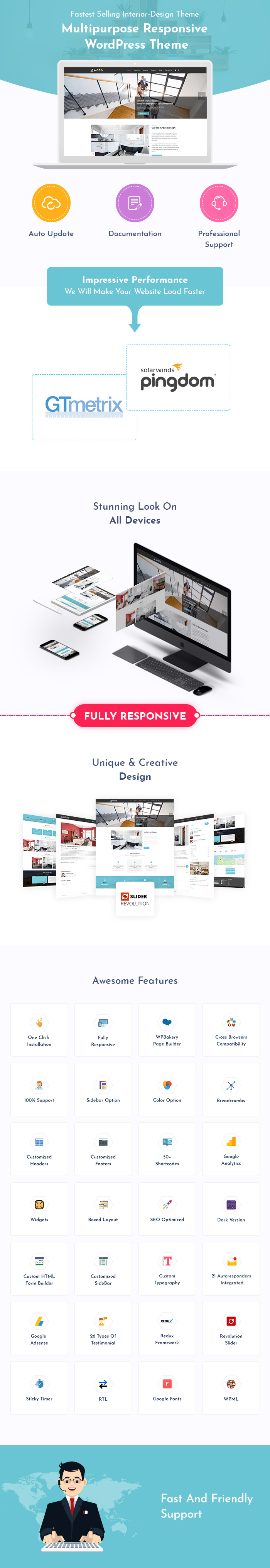 Interior Design & Architecture WordPress Themes