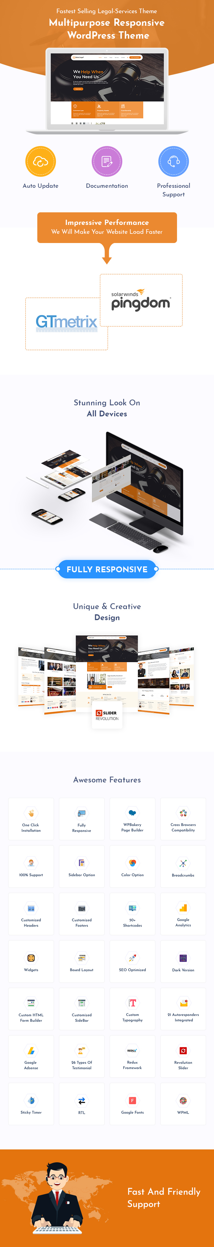 Legal Services WordPress Theme