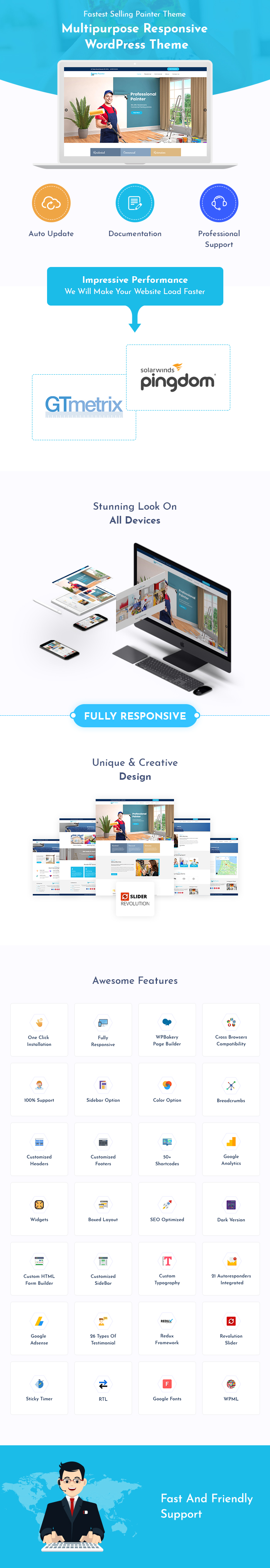 Painter, Painting & Renovation WordPress Themes
